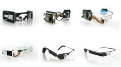 Previous prototypes show the way Glass has moved forward Google Glass, Wearable Computer, Wearable Device, Medical Design, Augmented Reality, Online Marketing, Evolution, Product Design, Posts