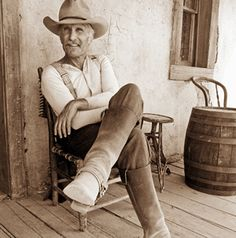 Gus (Robert Duvall from Lonesome Dove)