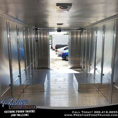 Here's what a naked food truck looks like on the inside. Put some cooking equipment on you food truck, there are kids around! #food #foodtruck #foodtrucks #business #orlando #florida #photooftheday #mobile #kitchen #equipment #cooking