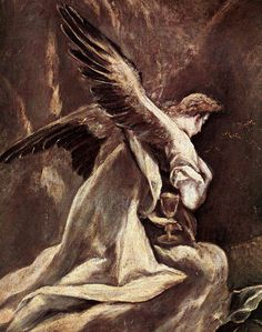 The Agony in the Garden by EL GRECO -- shared by WhatnotGems.Etsy.com