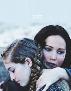 Catching Fire still of Katniss and Prim