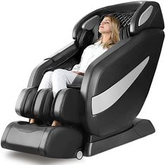 Amazon.com: Massage Chair, Zero Gravity SL Track Massage Chair, Full Body Shiatsu Massage Chair Recliner with Space Saving, Auto Body Detection, Thai Stretching, Bluetooth Speaker, Heat, Foot Roller Ugears B-L1 : Beauty & Personal Care