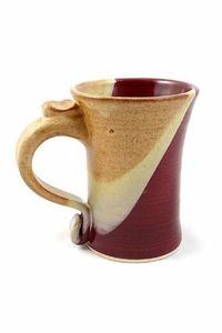 Handmade Pottery Mug 12 - 14 oz in Desert Sunset Glaze $29