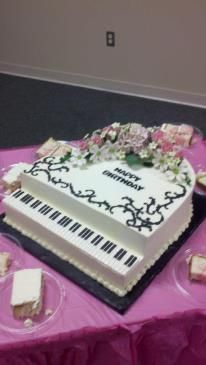 Piano cake for my mother in law