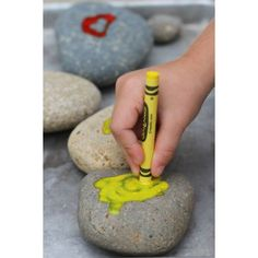 Hot Rock Art - So much fun during the summer! I knew there was something fun to do in Redding HEAT!!