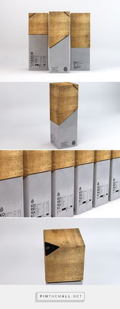 CORONA Greek Olive Oil Packaging of the World - Creative Package Design Gallery Olive Oil Packaging, Wood Packaging, Tea Packaging, Bottle Packaging, Brand Packaging, Design Packaging, Packaging Ideas, Industrial Packaging, Wood Branding
