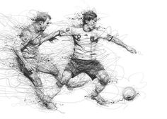 Artist: Vince Low | Source: https://www.behance.net/gallery/17625099/World-Cup-2014 | (Because I've been living under a rock.)