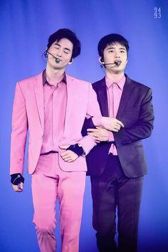 kim junmyeon <suho> & do kyungsoo <d.o.>