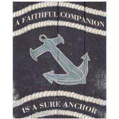 Anchor I by Eazl Canvas Poster, Multicolor