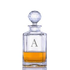 Custom Crystal Whiskey Liquor Decanter by Crystalize (Custom 1 Piece) ** Read more reviews of the product by visiting the link on the image. (This is an affiliate link) #HomeDecorTips