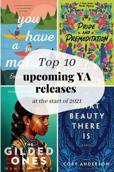 It's a new year, and that can only mean one thing: a new chance to add EVEN MORE books to your tbr and ignore the ones already on your shelf. So I've compiled a list of all the most exciting YA releases in the first few months of 2021!