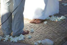Barefoot nuptials