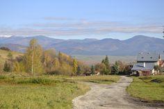 Pohľad na Tatranské hory - panoráma - Brezno, Slovensko - autor MIroslav Rašman View of the Tatra mountains - panorama - Brezno, Slovakia - author MIroslav Rašman