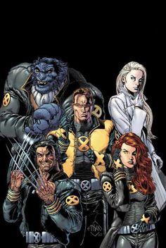 New X-Men | art by Ethan Van Sciver