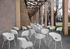 Metalmobil Polypropylene armchairs: Uni-Ka collection