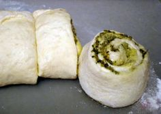 Cheesy Olive Bacon Crescent Spirals Refrigerated crescent dough makes ...