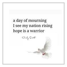 haiku ~hope is a warrior  Cindy Smith