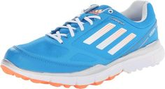 Cloudfoam sockliners on these womens adizero tour II golf shoes by Adidas provide ultra-light cushioning and comfort