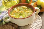 Throwing away the turkey carcass means throwing away great flavor.  Creating a great tasting turkey soup begins with a rich stock made from the leftover carcass. Turkey stock can be used immediately for homemade soup or frozen for future soups. Keep it traditional and add your favorite poultry seasoning and hearty root vegetables. Alternatively,...