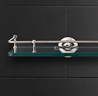 Lugarno Glass Shelf