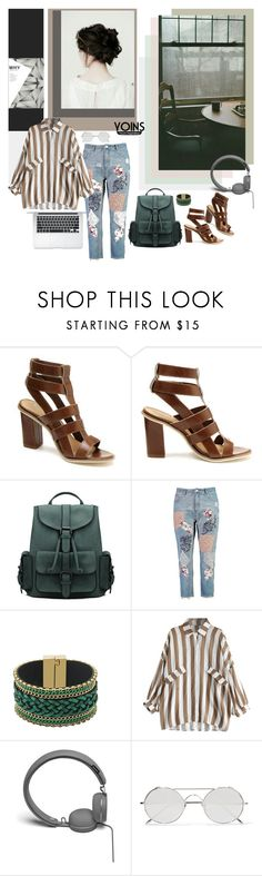 """YoIns [03.07.2017]"" by mariettamyan ❤ liked on Polyvore featuring Boohoo, Urbanears, Linda Farrow, yoins, yoinscollection and loveyoins"