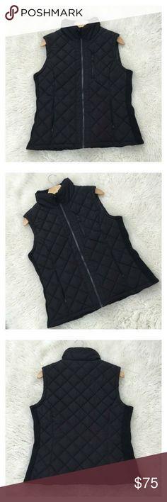 Puffy vest Black size XL sleeveless warm. Winter vest. Padded vest. Jackets & Coats Vests