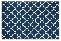 Tamisn Rug, Dark Blue/Ivory on OneKingsLane.com