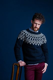 Ravelry: Spearheads pattern by Jared Flood Mens Knit Sweater Pattern, Sweater Knitting Patterns, Men Sweater, Knitting Designs, Brooklyn Tweed, Icelandic Sweaters, How To Purl Knit, Costume, Pulls