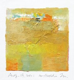 Aug 19 2011  Original Abstract Oil Painting  by hiroshimatsumoto