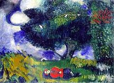 Marc Chagall, The Poet with the Birds, 1911, Oil on canvas, The Minneapolis Institute of Arts, Bequest of Putnam Dana McMillan