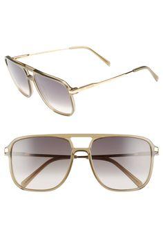 2eb0608f93da Céline 58mm Gradient Navigator Sunglasses