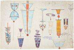 Carlo Scarpa drawing, 1930's