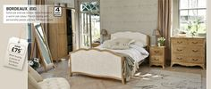 Romantic French Bedroom Furniture - Next UK