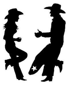 Image detail for -Engineering - Cowboy Silhouettes