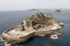 El abominable buque de guerra en plena Nagasaki© Getty Images/The Asahi Shimbun