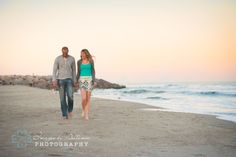 Fort Fisher, NC Beach Engagement Session www.imagesbyautumn.com