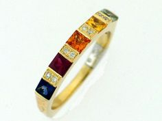 Women's Colored Gemstone Ring 247-00430