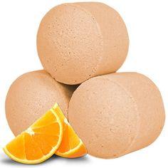 Mini frizzanti all'arancio per un bagno rinfrescante ed energizzante.
