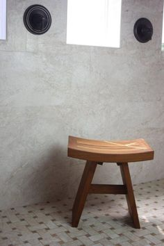 A sturdy and functional piece of furniture similar to Solid Teak Indoor Outdoor Asian Stool is useful not only in your home, patio, kitchen and the like but in your bathroom too. Wood Shower Bench, Teak Shower Stool, Teak Bathroom, Bathroom Stools, Shower Chair, Bathroom Fixtures, Master Bathroom, Bathroom Ideas, Bathrooms