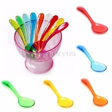 3pcs CANDY SCOOPS Plastic Wedding Sweet Buffet Party Bag Food Ice Serving Scoop