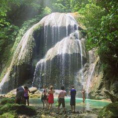waterfall in Jacmel