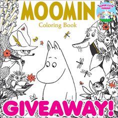 Moomin Coloring Book Giveaway