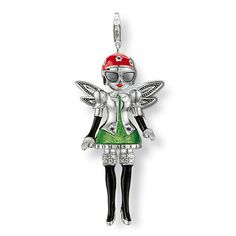 Aliexpress Fashion European x-men green elves pendant fit charm bracelet for women Thomas Sabo, Jewelry Sets, Jewelry Accessories, Sale Uk, Black Enamel, Wholesale Jewelry, X Men, Puppets, Bracelets