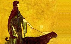 ..........felines,two......    (untitled, Edmund Dulac)