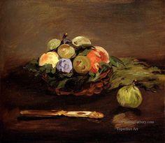 2-Basket-Of-Fruit-Impressionism-Edouard-Manet-still-lifes