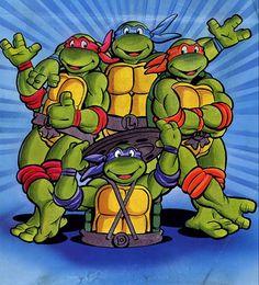 teenage mutant ninja turtles cartoon - Google Search