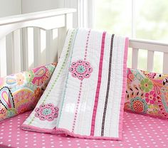 Petite Paisley Nursery Bedding #PotteryBarnKids