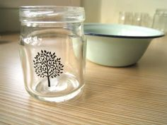 Ally's In Wonderland: Craft Geek DIY: How to Print on Glass Jars