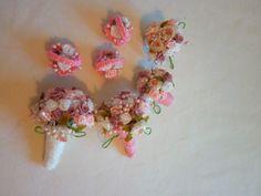 Boo Bear's Crochet Barbie Wedding Flowers