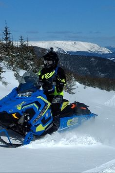 """Here is what you have the opportunity to enjoy if you treat yourself to a """"grand tour"""" of the region: 1315 km of snowmobiling on the groomed and marked trails of Gaspésie! Grand Tour, Snow Conditions, New Richmond, Ride Along, Trail Maps, Suspension Bridge, Scenery, Photos, Random"""